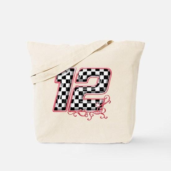 RaceFashion.com 12 Tote Bag