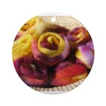 Roving Roses Ornament (Round)