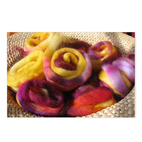 Roving Roses Postcards (Package of 8)
