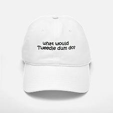 Tweedledum Baseball Baseball Cap
