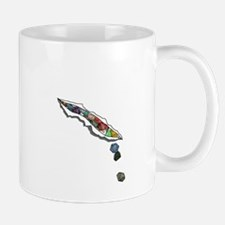 I Bleed Dice (No Text) Mug