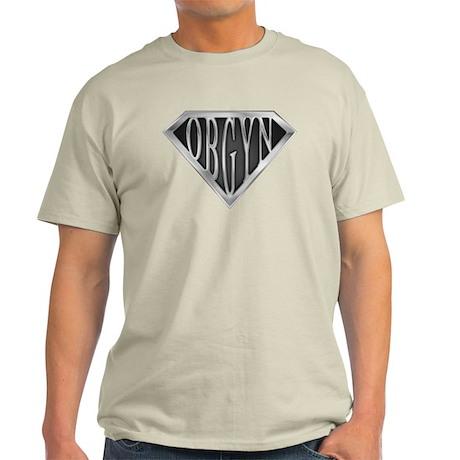 SuperOBGYN(metal) Light T-Shirt