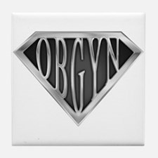 SuperOBGYN(metal) Tile Coaster