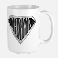 SuperOBGYN(metal) Large Mug