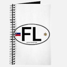 Liechtenstein Euro Oval Journal