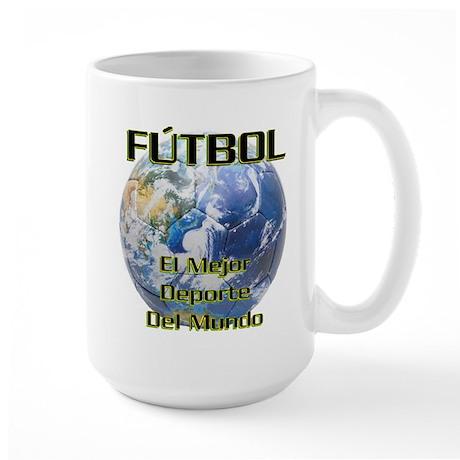 Futbol Mundo Large Mug