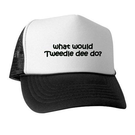 Tweedledee Trucker Hat