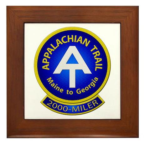Appalachian Trail 2000-MILER Framed Tile