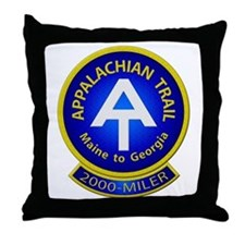 Appalachian Trail 2000-MILER Throw Pillow