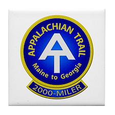 Appalachian Trail 2000-MILER Tile Coaster