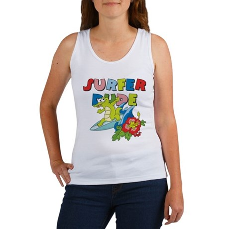 Surfer Dude Women's Tank Top