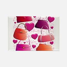 I love Handbags Magnets