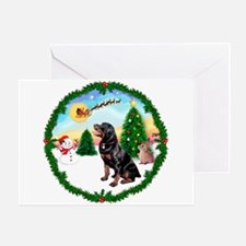 Take Off1/Rottweiler #6 Greeting Card