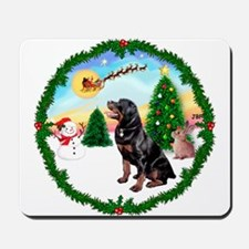 Take Off1/Rottweiler #6 Mousepad