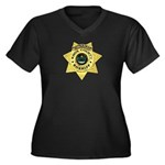 Knox County Sheriff Women's Plus Size V-Neck Dark