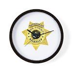 Knox County Sheriff Wall Clock