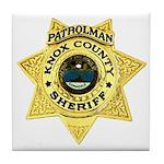 Knox County Sheriff Tile Coaster