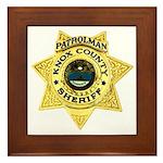 Knox County Sheriff Framed Tile