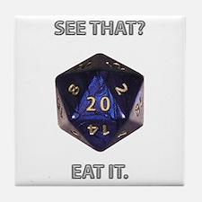 Eat It! Tile Coaster