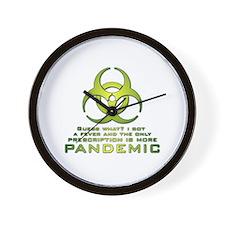 More Pandemic Wall Clock
