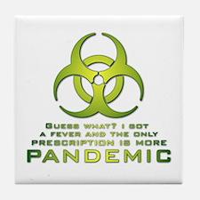 More Pandemic Tile Coaster