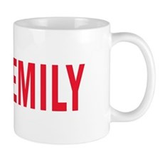 Emily (red) Mug