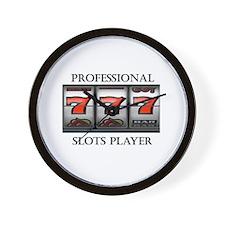 Slots Professional Wall Clock