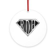 SuperRDH(METAL) Ornament (Round)