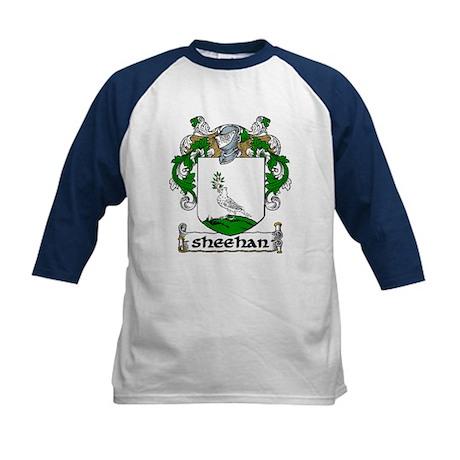 Sheehan Coat of Arms Kids Baseball Jersey