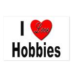 I Love Hobbies Postcards (Package of 8)