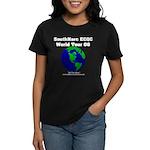 SouthNarc World Tour '08 T-Sh Women's Dark T-Shirt