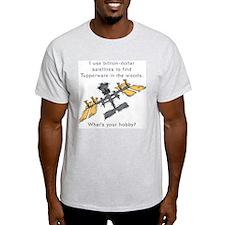 Mudinyeri's Satellite Ash Grey T-Shirt