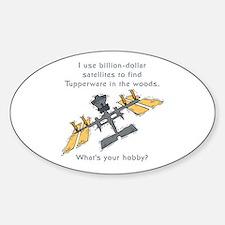 Mudinyeri's Satellite Oval Decal