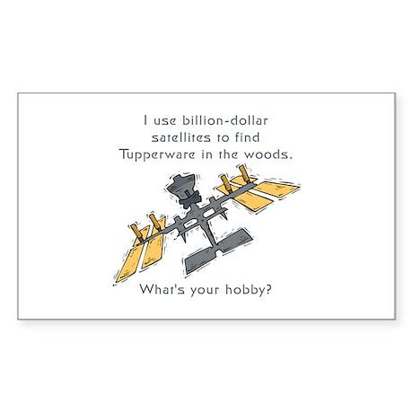 Mudinyeri's Satellite Rectangle Sticker
