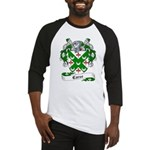 Carse Family Crest Baseball Jersey