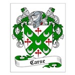 Carse Family Crest Small Poster