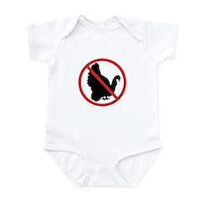 No Turkeys! Infant Bodysuit