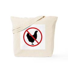No Chickens! Tote Bag