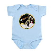 Night Flight/Schipperke Infant Bodysuit