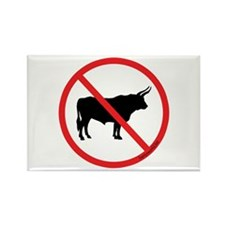 No Bull! Rectangle Magnet (100 pack)