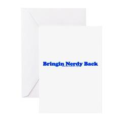 Bringin Nerdy Back Greeting Cards (Pk of 20)