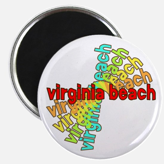 "Virginia Beach 2.25"" Magnet (10 pack)"