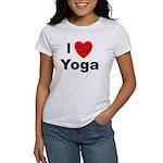 I Love Yoga (Front) Women's T-Shirt