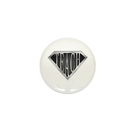 SuperTeach(metal) Mini Button (10 pack)