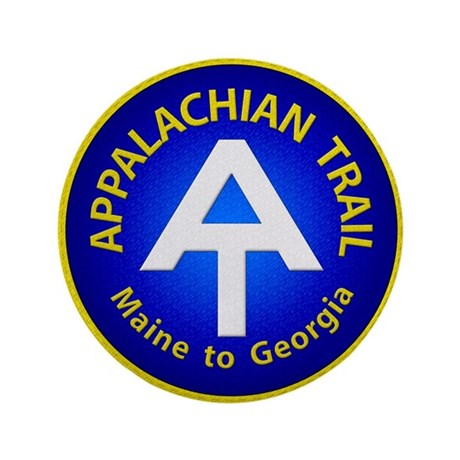 "Appalachian Trail Patch 3.5"" Button"