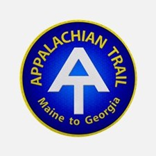 "Appalachian Trail Patch 3.5"" Button"
