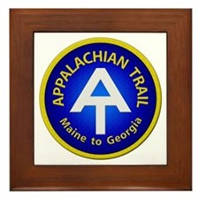 Appalachian Trail Patch Framed Tile