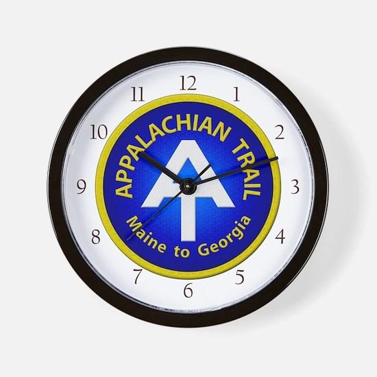 Appalachian Trail Patch Wall Clock