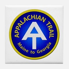 Appalachian Trail Patch Tile Coaster