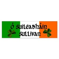 Sullivan in Irish & English Bumper Bumper Sticker